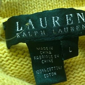 Ralph Lauren Sweaters - RALPH LAUREN PULL OVER SWEATER WITH SILVER TOGGLE